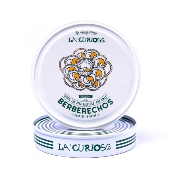 Berberechos al natural La Curiosa